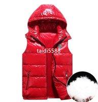 남자 디자이너 조끼 겨울 재킷 겨울 두꺼운 코트 몬클레이터 편지 배지 아래로 Parkas mens womens 따뜻한 겉옷 조끼 패션 jacekt