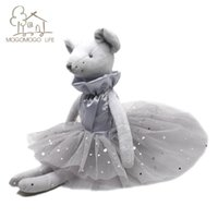 Luxury Dinger Ballet Mouse Plush Lovely Kids Prent Adorable Decorative Doll Fashioashion Rat Stuffed Animal Toys