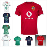 2021 British Irish Lions Jersey de rugby 20 21 Lions britanniques Rugby Home Shirt Taille S-5XL