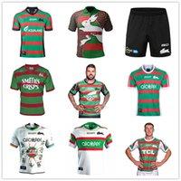2021 Güney Sydney Rabbitohs Home Anzac Rugby Formalar Ulusal Ligi Adult Jersey Tavşan 20 21 NRL Avustralya