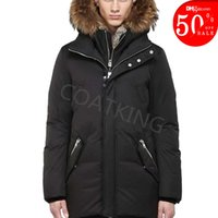 2021 New Winter Parkas Outerwear women Wolf fur Hooded Down Jacket top quality 90% white goose down coat
