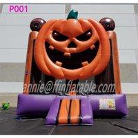 Pumpkin Inflatable Bounce House Halloween Inflatables Arch Inflatable Halloween Pumpkin Arch Halloween Archway Arch Haunted House