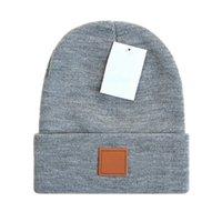 Marcas de moda Deportes Diseño de hueso Sombreros de invierno para hombres Mujeres Higido Beanie Wool Hombre Hombres Punto Bonito Gorros Gorros Touca Espesar