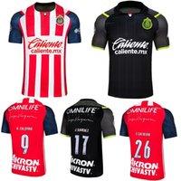 2021 2022 Chivas de Guadalajara Jerseys 21 22 A.zaldivar Calderon O.Peralta Brizuela A.VEGA PONCE HOME HOMBRE T-shirt de football