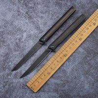 NOUVEAU Couteau de pliage de stylo en acier M390 (poignée en fibre de carbone) Couteau pliant Equipement de survie Camping en plein air SURVIE EDC petit kippage pliable
