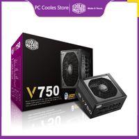 Coolermaster V550 V650 V750 Game Ordinateur d'or Japonais Alimentation 750W pour 140mm 12V ATX PC PC PSU Gold 80plus 650WA12CM
