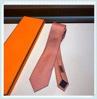 2021 Erkekler Kravat Erkek Boyun Kravatlar Luxurys Tasarımcılar İş Kravat Kemer Süblimasyon Boşlukları Cravate Krawatte Corbata Cravatta W3 21030109DQ