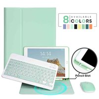 For iPad 9.7 2017 2018 2019 10.2 5th 6th 7th Generation Case for Air 1 2 3 10.5 11 Bluetooth-compatible Keyboard Cover