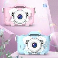 2,0 дюймовый дети мини камера цифровая фото видео передняя задняя камера объектива линзы образовательные рождественские подарки для детей игрушки подарок мальчик