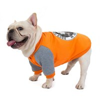 Dog Apparel Pet Clothes Clothing Autumn And Winter Warm Stitching French Bulldogs Bago Small Wei