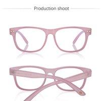 Gafas de sol de diseñador de mujeres para mujer Moda Moda Mayor anti azul claro Polígono Polígono Lentes de vidrio