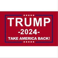 Drapeau Trump 2024 Drapeaux électoraux Banner Donald Trump Flag Save America 150 * 90cm 5 Styles Trump Drapeaux Cyz2984