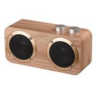 Portable Speakers Wooden Home Bluetooth Speaker Phone Outdoor Multi-Function U Disk Wireless Card Retro