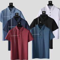 2021 novos designers camisetas homens camisa polo luxo polo casual homens t-shirt t-shirt letra cópia bordado moda manga curta polo di design