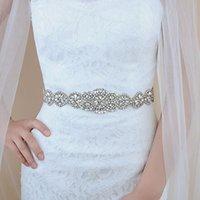 Birdal Sash Bridal Rhinestone Diamond Belt Wedding with Crystal Belt Accessories Bridal Sash for Wedding Dress