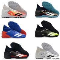 أحذية رجالي رخيصة أحذية الكاحل أحذية كرة القدم المفترس المعتوه 20.3 TF داخلي جلدية غير معدي المدربين العشب الجوارب كرة القدم المرابط US6.5-11