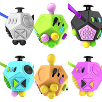 Новин Fidge Magic Cube Decompression Dice Toys Ange Tructuring Crystal Magic Cube Детские взрослые Декомпрессионные игрушки для пальцев Головоломки H347M59