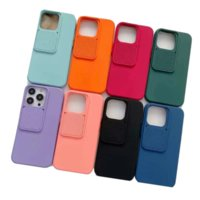 Slide Camera Lens Protection Cases For iPhone 13 Pro Max iPhone13 12 mini 11 XR XS X 8 7 6 Plus Soft TPU Silicone CamShield Sliding Fashion Smart Phone Back Gel Skin Cover