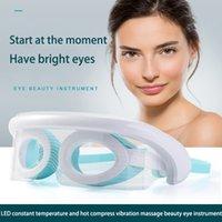 20 STÜCKE Drei Modell LED Schönheit Eye Massager Maske Konstante Temperatur Heißkompresse Linderung Auge Ermüdung Photorejuvenation Augenpflege Instrument