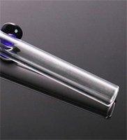 Great Pyrex épais en verre Huile Burneur Fumer Tuyaux Tuyaux épais Tube Clear Tube Somking Tuyaux d'eau 190 S2
