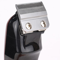 أعلى البائع 8148 ماجيك كليب المعادن الشعر المقص الكهربائية الحلاقة الرجال الصلب رئيس ماكينة حلاقة الشعر المتقلب الأسود الذهب الأحمر 2 اللون