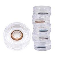 Yüksek kaliteli moda renkli kontakt lens kılıfları ucuz konforlu kontaklar kılıfları