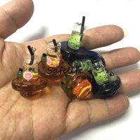 Acessórios para fumar Top Quartz Bangers Nails Spinner Todos os tipos de vidro CARB CAP OD = 25mm para Dab Rig Water Banger Na Nailterp Pearl