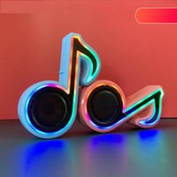 Portable Speakers Bluetooth Wireless Personalized Speaker Color Light High Volume Home Computer Subwoofer Small Sound