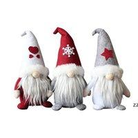 US-Bestände Weihnachtsgeschenke Gnomes Plüsch Spielzeug Party Favor Santa Claus Plüsch Puppe Fachlose Puppen Dekoration Weihnachtsschmuck