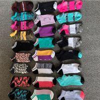 DHL Free Pink Black Socken Erwachsene Baumwolle Kurze Knöchelsocken Sport Basketball Fußball Teenager Cheerleader New Sysle Girls Frauen Socke mit Tags