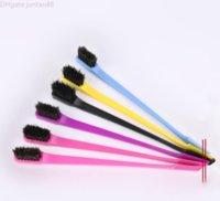 New Beauty Double Sided Edge Control Capelli Pettine per capelli Styling Hair Brush Donne Strumenti di bellezza cosmetici