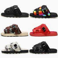 2020 Новый Висвим Мужчины Женщины Любители Модные Обувь Пляж Хип-Хмель Уличные Сандалии Лучшие Отличные тапочки