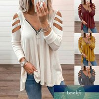 Fashion Tops Blouses for Women Spring Autumn Cotton Shirt Pu...