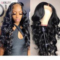 Свободная волна парика бразильский 5x5 HD прозрачный кружевной парик для чернокожих женщин Remy волосы человеческие волосы парики кружева перед