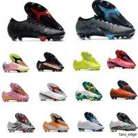 Moda Mens Cleaves de Futebol Superfly 7 Elite SE Neymar FG Soccer Sapatos Ao Ar Livre Mercurial Elite FG 13 CR7 Botas de Futebol Ronaldo