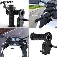 "1 paio di impugnature riscaldate in moto ATV Handle Swimmer Motorcycle da 7/8 ""22mm Heat Heat Heat Grip 12V"