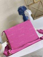 Womens Luxury designer handbag Coussin PM crossbody bag Embossed Ladies purse gold chain M58628 m57790 M58626 M80745 POCHETTE clutch bags