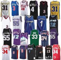 NCAA 2020 TRAE 11 Herren Jersey Mesh 23 Michael Scottie 33 Pippen Jersey Dennis 91 Rodma Jerseys MJ 1996 Bull