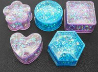 상자 수지 안정성 보석 상자 금형 Hexagon 에폭시 실리콘 수지 금형 저장 상자 금형 수지 공예품 만들기