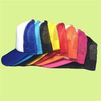 Moda Erkekler Boş Snap Geri Kap Kamyoncu Mesh Şapkalar Kadınlar Düz Beyzbol Kapaklar İlkbahar Yaz Snapbacks Kapaklar Suncreen Hat 70 T2