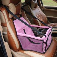 4 ألوان الحيوانات الأليفة الداعم مقعد السيارة مع الكلب تسخير حزام مقعد السيارة S-XL 23 S2