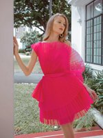 Fashion Neckline 2022 Homecoming Dresses Ruched Tulle Short Prom Dress Zipper Back Cocktail Party Bride Gowns A Line