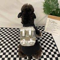 Pet Dog Cats Bag Backpack Breathable With Leash Letter L Luxurys Designers Bag Dog Puppy Outdoor Travel Backpack Shoulder Carrier D2110212Z