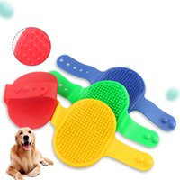Pet Beauty Tools Washer Dog Cat Massage Brush Comb Cleaner Puppy Wash Tool Soft Gentle Silicone Bristles Quickly Cleaing Brushs ZXFTL0986
