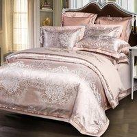 Neues Schlafzimmer Vierstil Bettwäsche Luxus Europäischen Stil High-End-Stil Steppdecke Modische Einfache Familienhotel Bettwäsche-Set