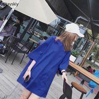 Women's T-Shirt T-shirts Women Summer Trendy Korean Style Simple All-match Solid Streetwear Kawaii Ulzzang Harajuku Womens Clothing Chic Cas
