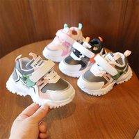 Capsella Детская спортивная обувь 1 2 3 4 5 6 лет девочек мальчиков кроссовки младенца бегущие детские мягкие дна дышащие открытый 210914