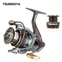 Tsurinoya 2 bobine de pêche à rotation 1000 2000 3000 185g 6kg max de carbone map carpe de boue d'eau salée bobine basses roue
