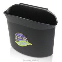 Car Organizer Vehicle Trash Rubbish Bin Dust Case Holder Box Accessories Styling For SEAT Leon Ibiza Altea Alhambra
