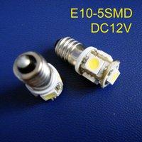 Bulbs High Quality 12V E10 Led,E10 LED Lamp 12V,E10 Light,E10 Bulb Light DC12V,E10 12V, 500pc lot